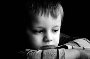 sad boy child