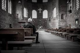 alone-in-church