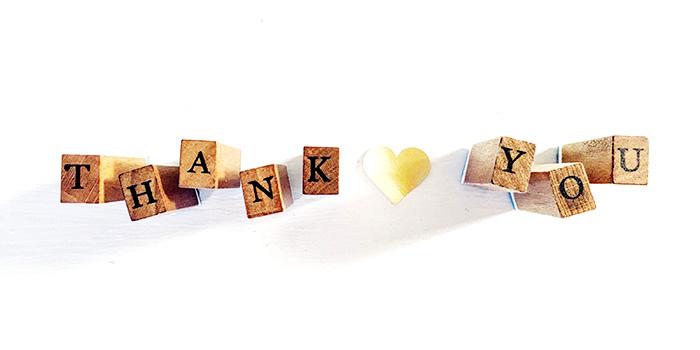thank you - web